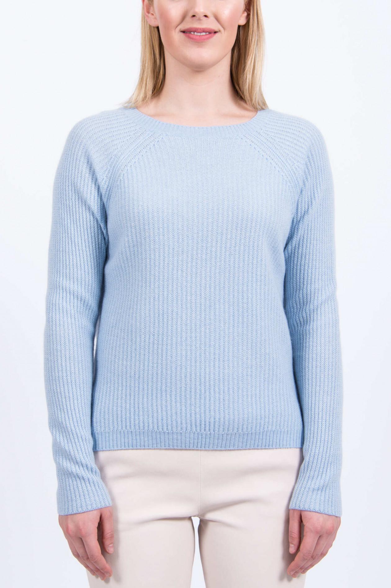 Damen Pullover JASMIN hellblau