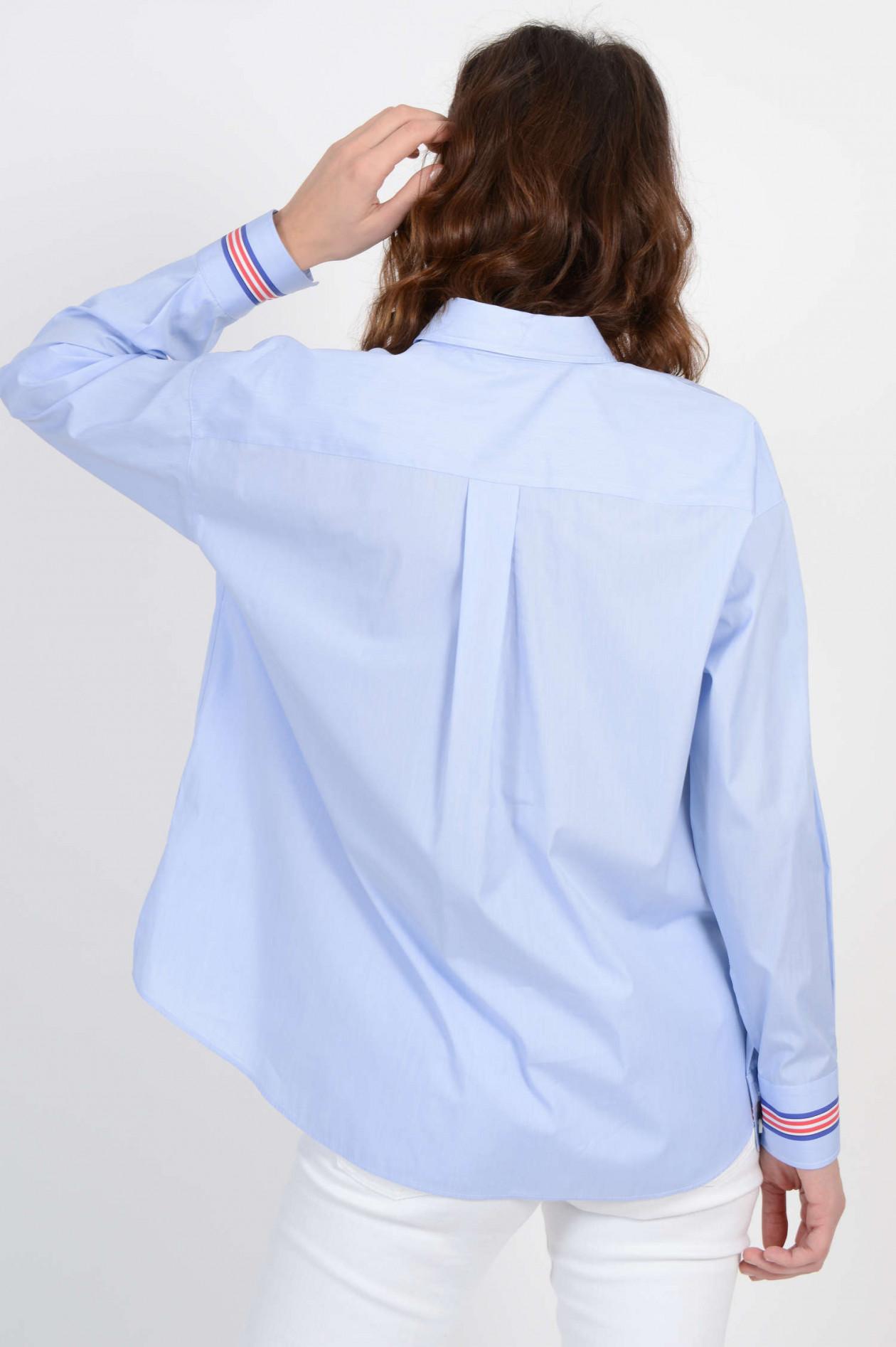 blusen damen blau weiß gestreift caliban