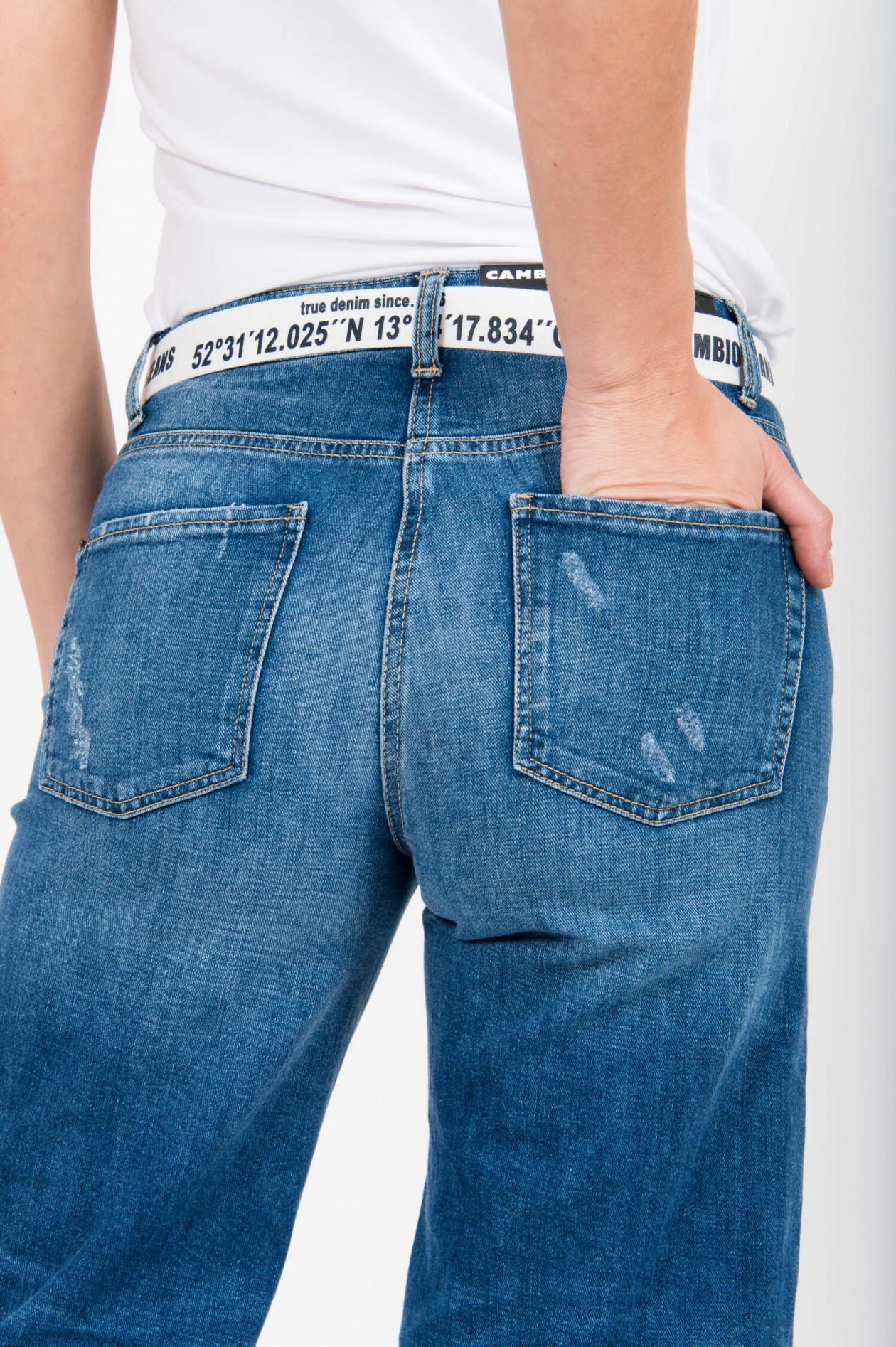 hochwertiges Design großer Diskontverkauf suche nach authentisch Jeans Culotte PHILIPPA mit Gürtel in Mittelblau