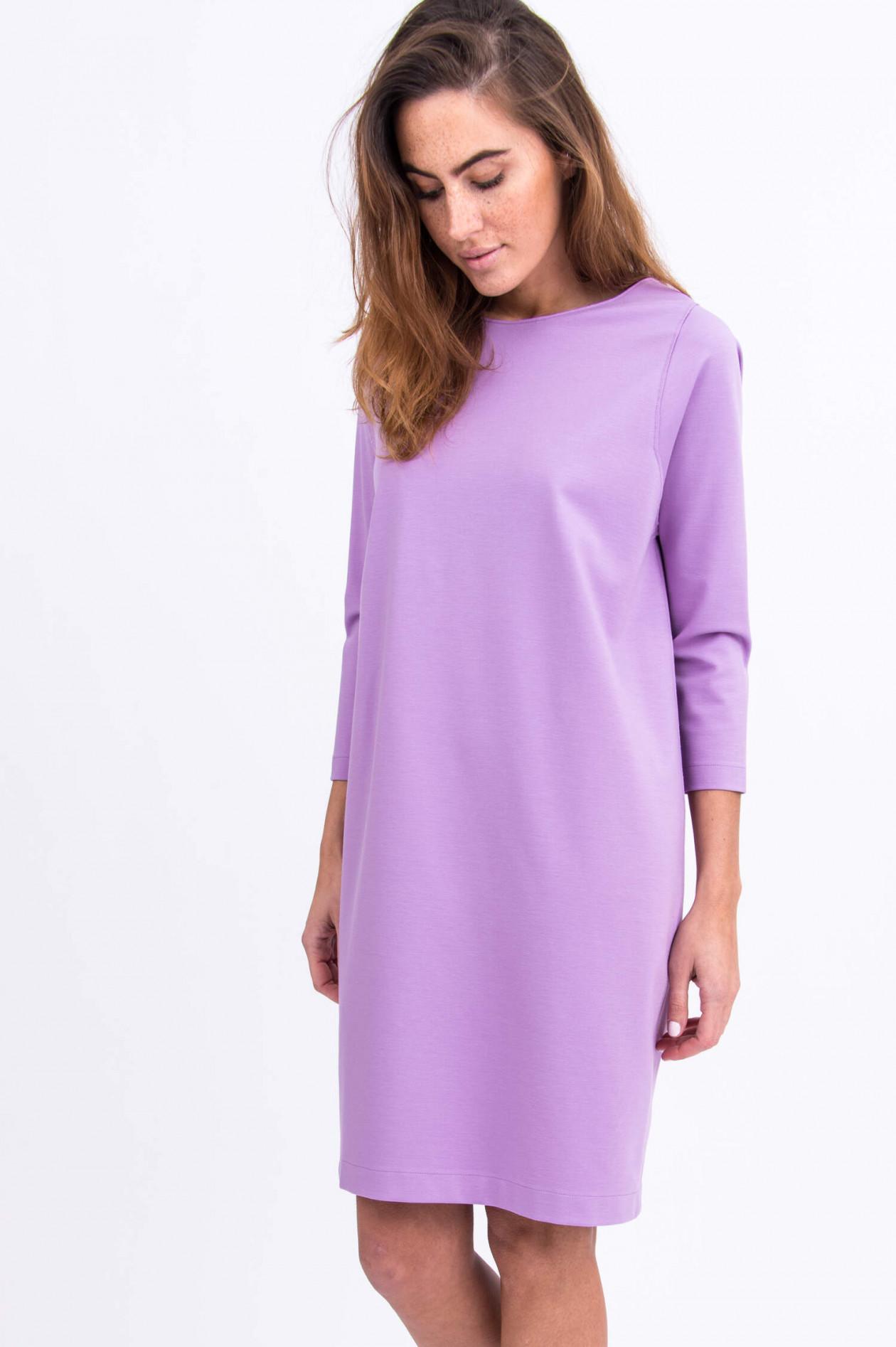 Jersey-Kleid in Flieder