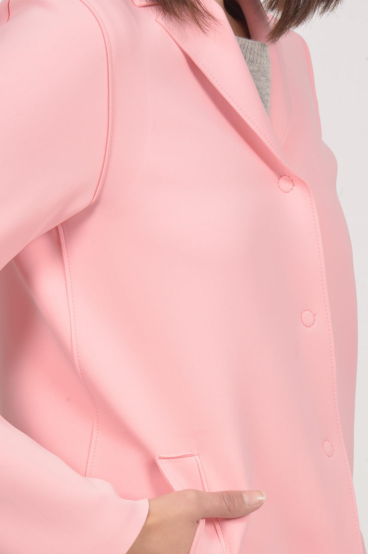 Neoprenmantel in Pink