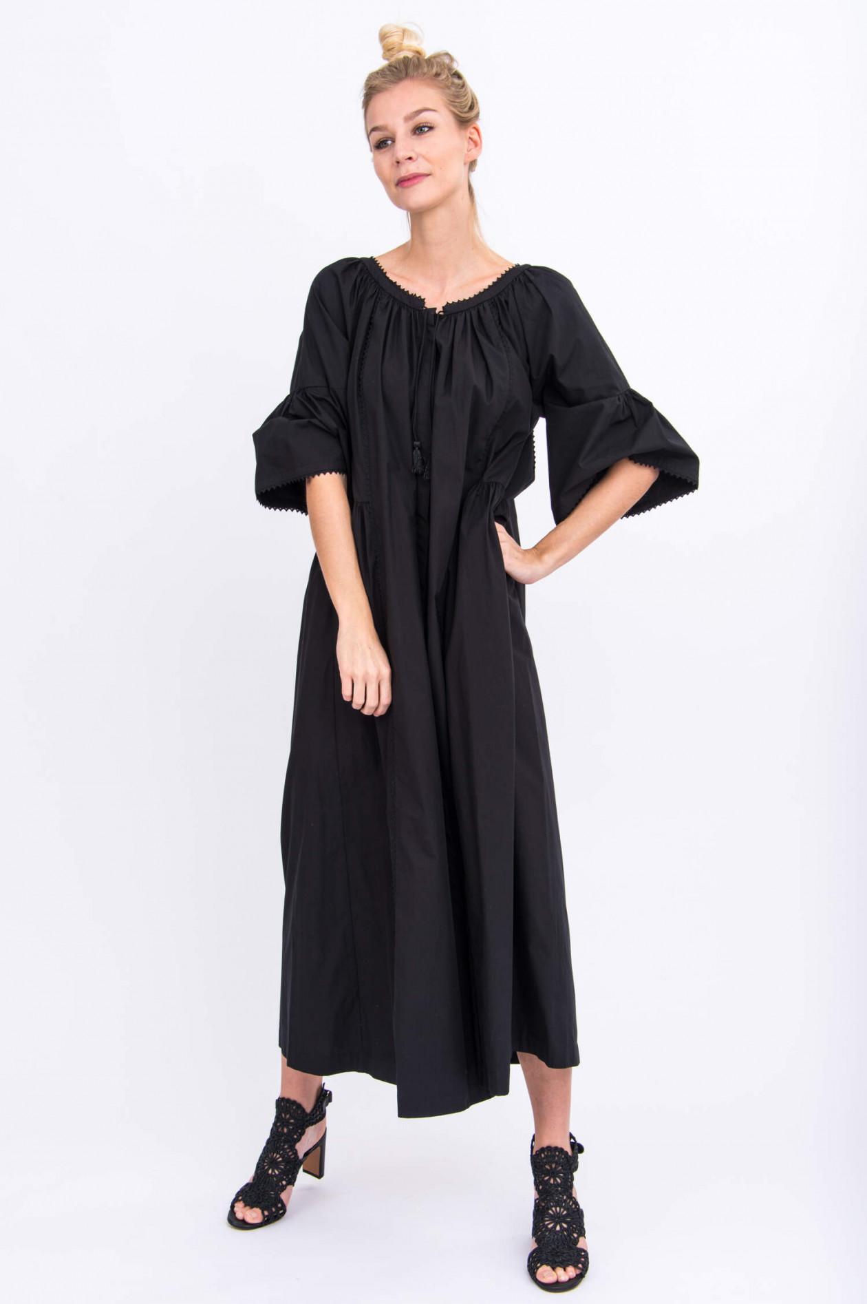 Maxi-Kleid OMBRATO in Schwarz