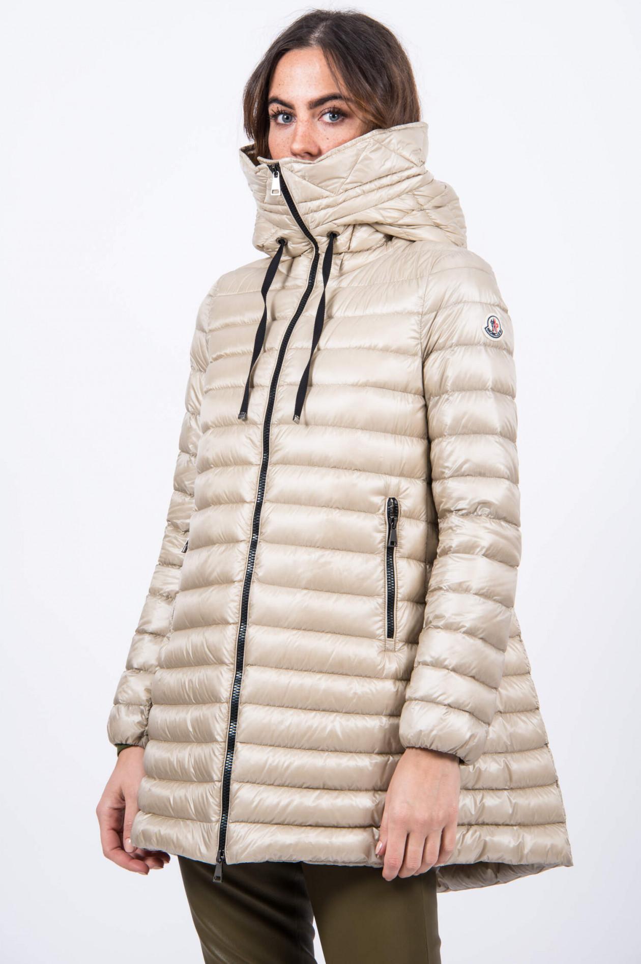 Moncler Mantel schwarz Grösse 2 (M)