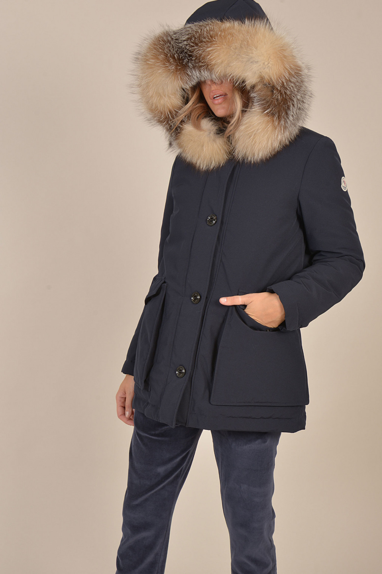 Jacke COUVITE in Navy