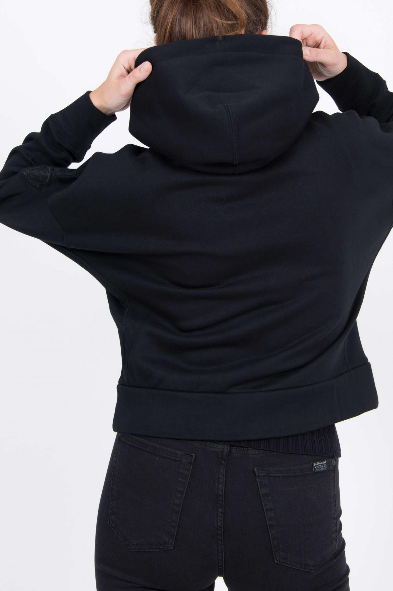 Moncler Sweatjacke in Schwarz