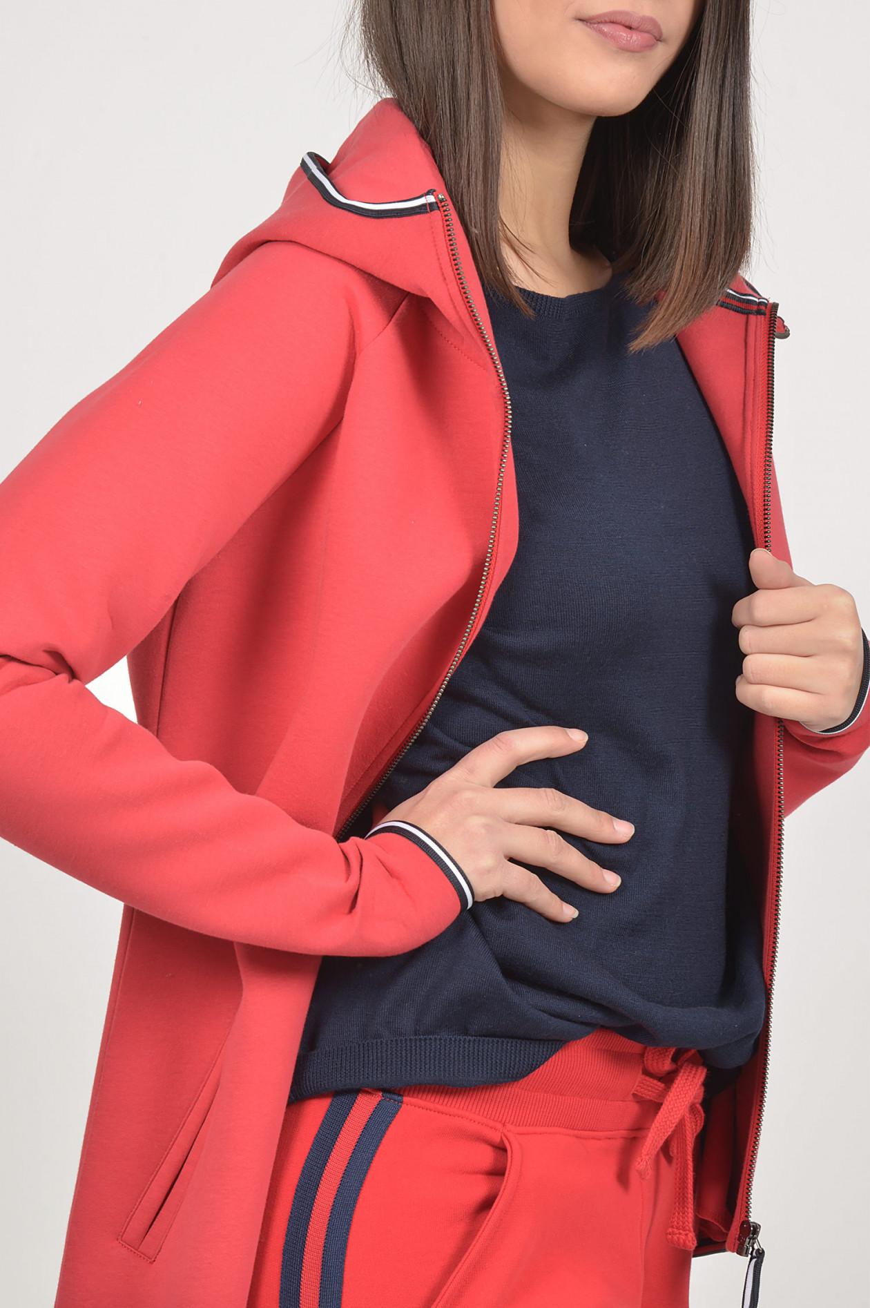Roqa Damen Sweatjacke Rot | SAILERstyle