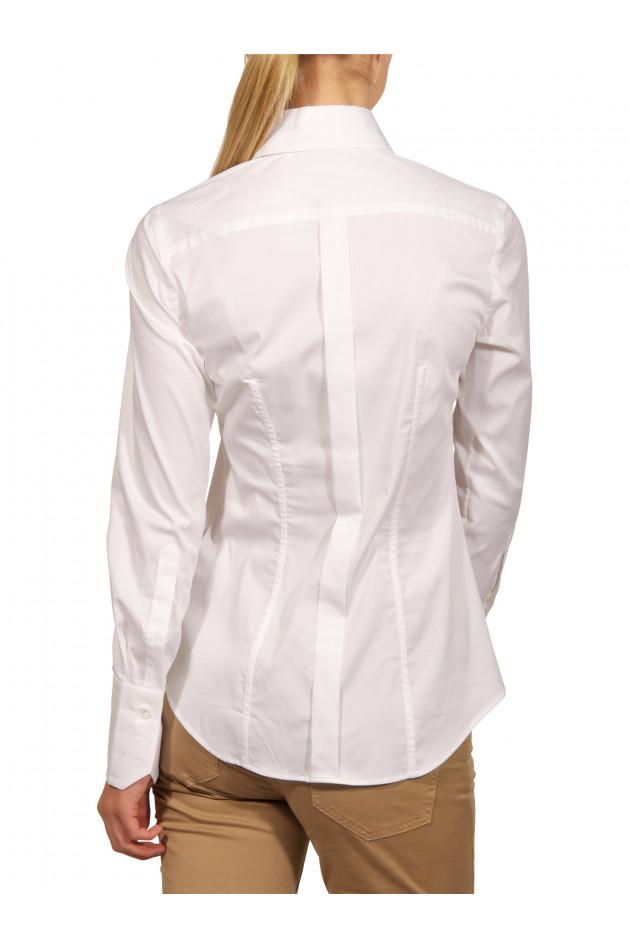 Caliban - Bluse Weiß
