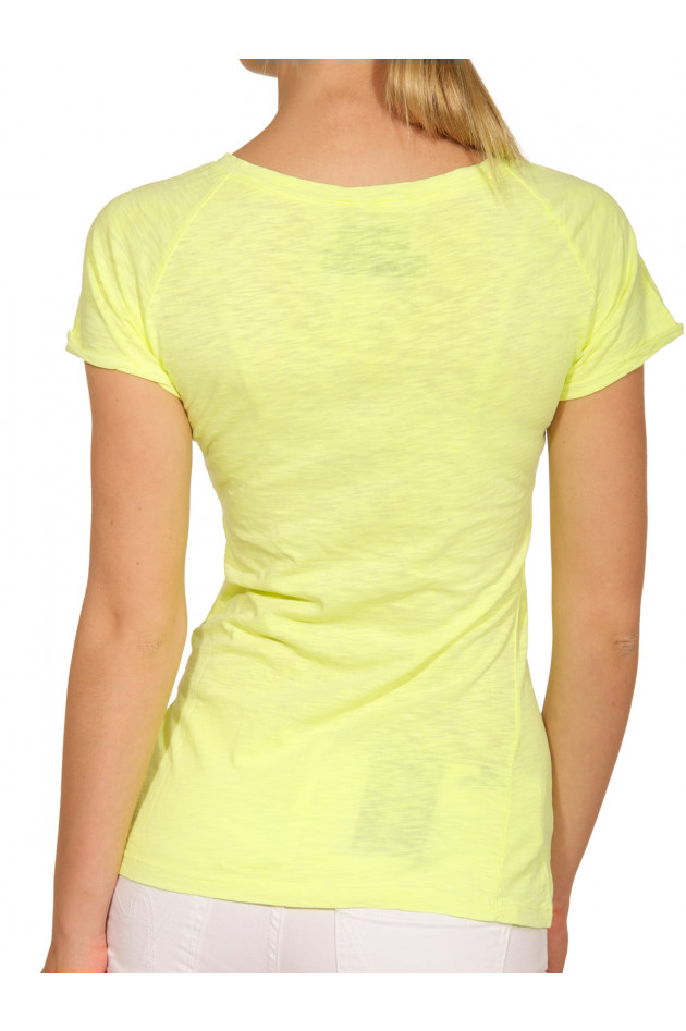 London Ink T-Shirt Giallo Fluo