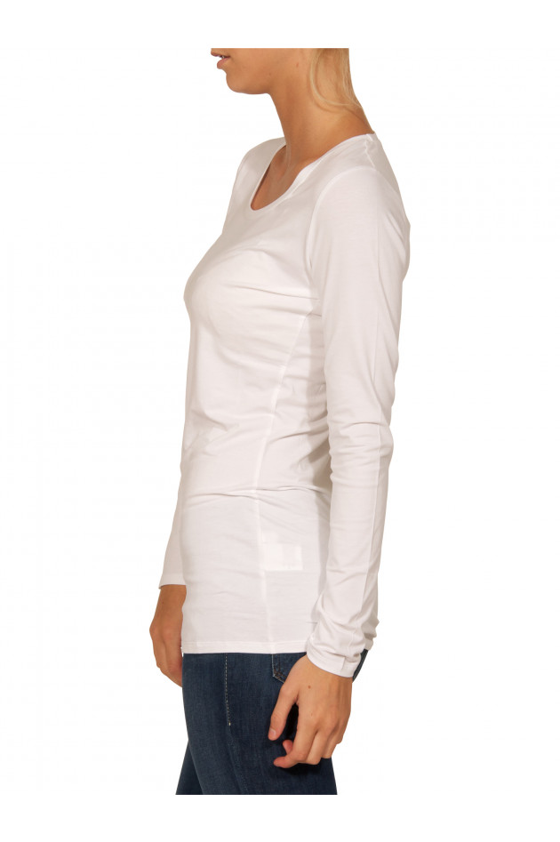 Repeat - Langarm-Shirt White