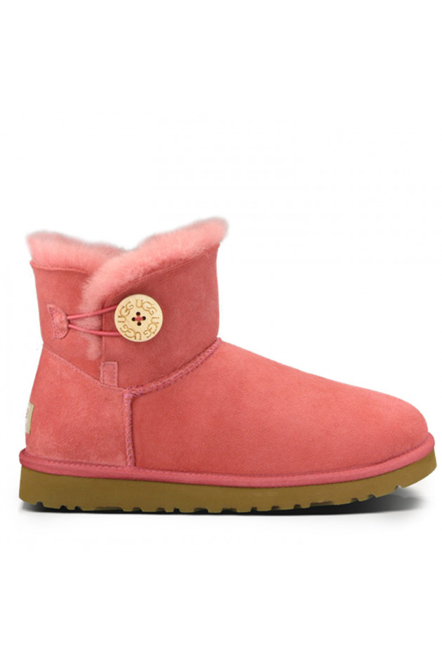 UGG Mini Bailey Button Rose Clay