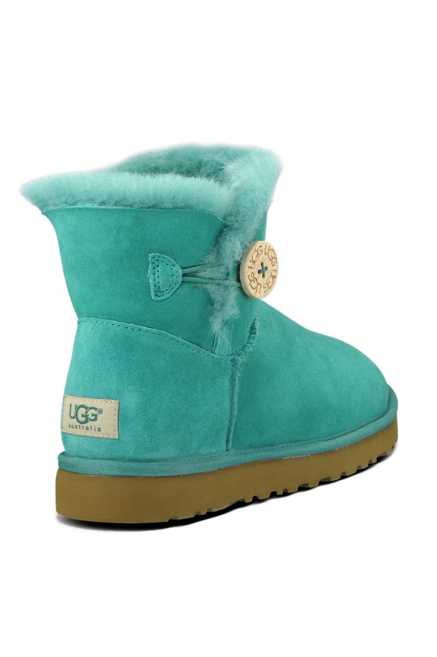 UGG Mini Bailey Button Deep Aqua