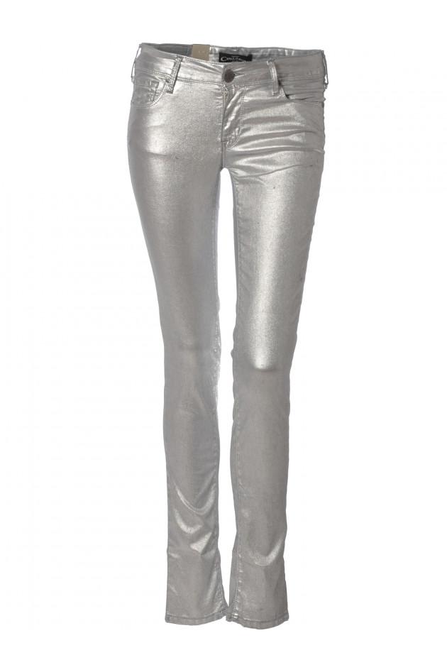 Cimarron Jeans JACKY Silber Metalic