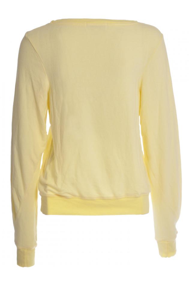 Pullover Butter mit Print