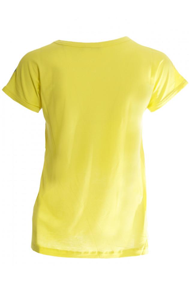 Shirt Gelb mit Bumenmuster Moncler