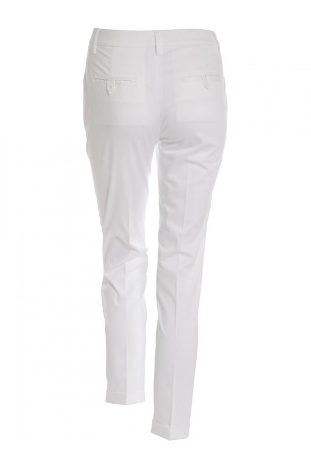 Faltenhose Weiß