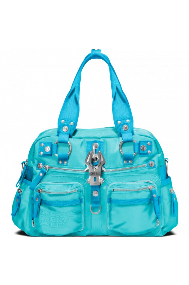 Handtasche Double B Kifum Aqua