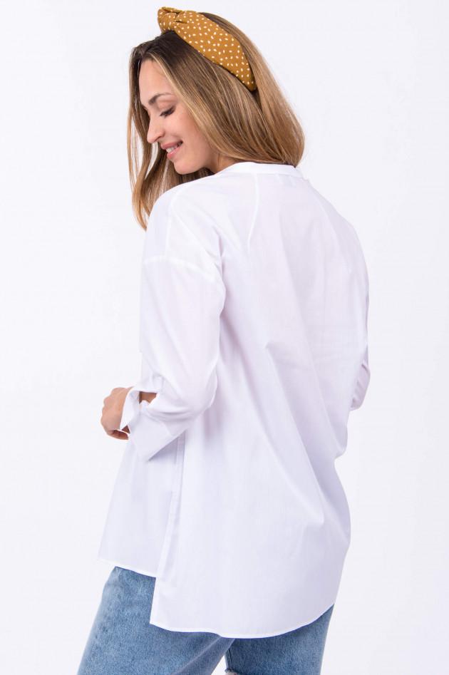 1868 Bluse OPPI in Weiß