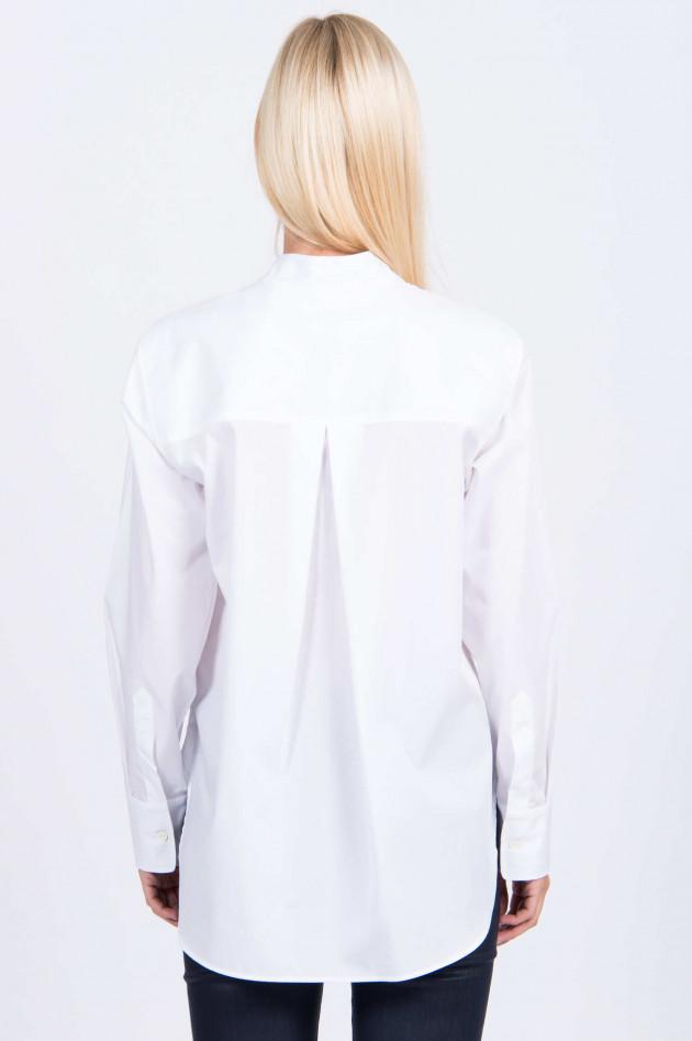 1868 Bluse NATI in Weiß