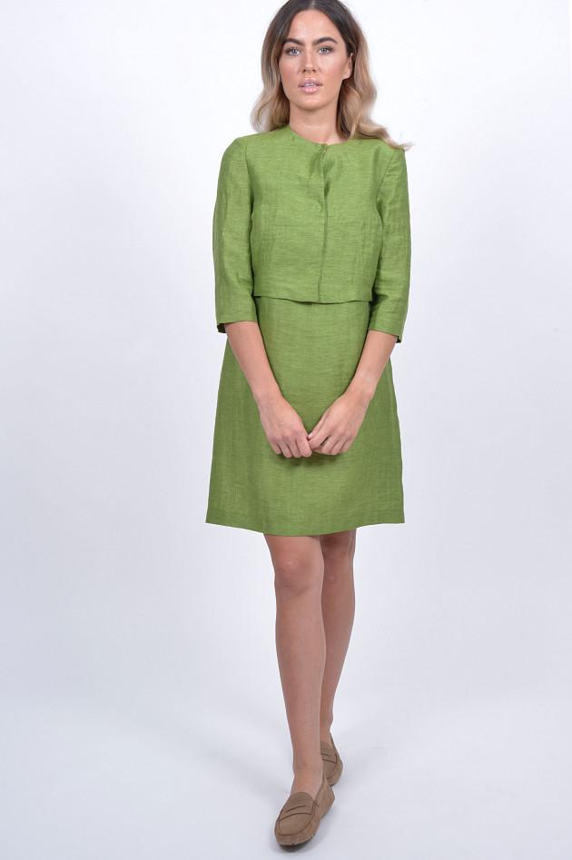 1868 Kleid mit Jacke in Grün