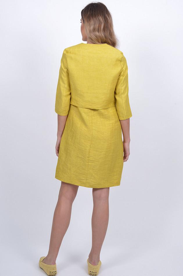 1868 Kleid mit Jacke in Gelb