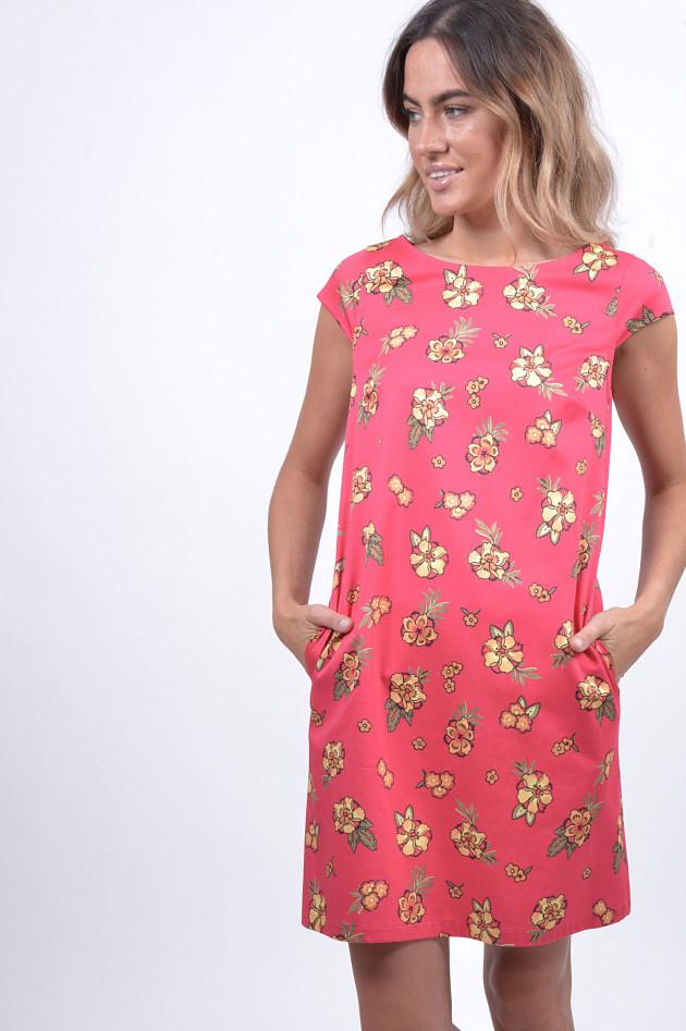 1868 Kleid mit Blumenprint in Pink   GRUENER.AT