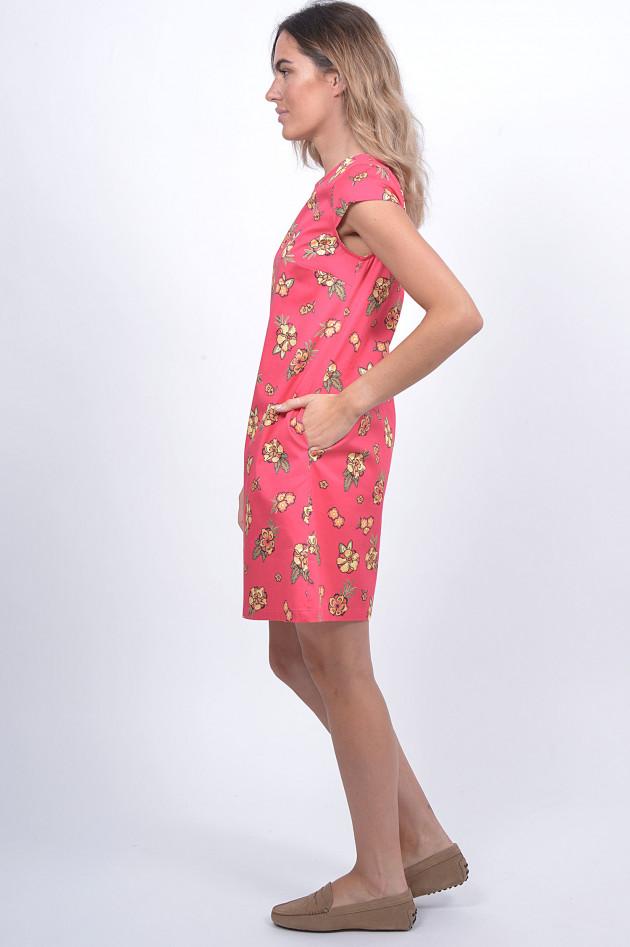 1868 Kleid mit Blumenprint in Pink | GRUENER.AT