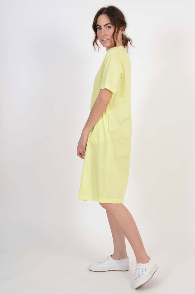 1868 Kleid mit Seitentaschen in Gelb