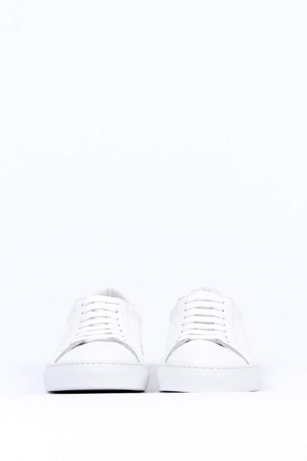 1868 Leder-Sneaker in Weiß