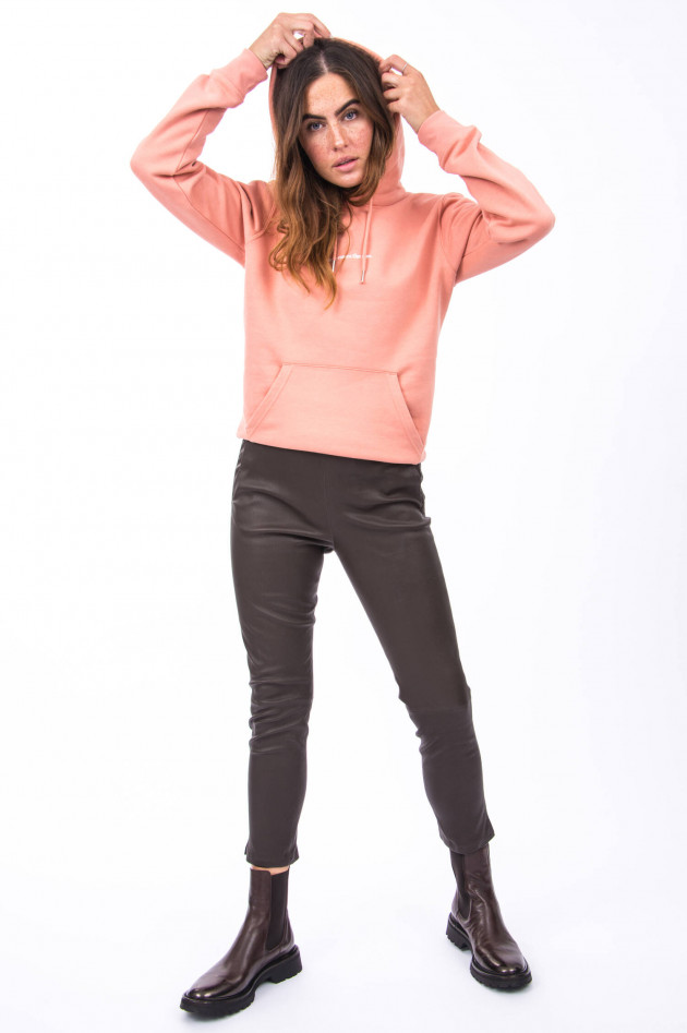 1868 Hoodie TAKE IT EASY in Apricot