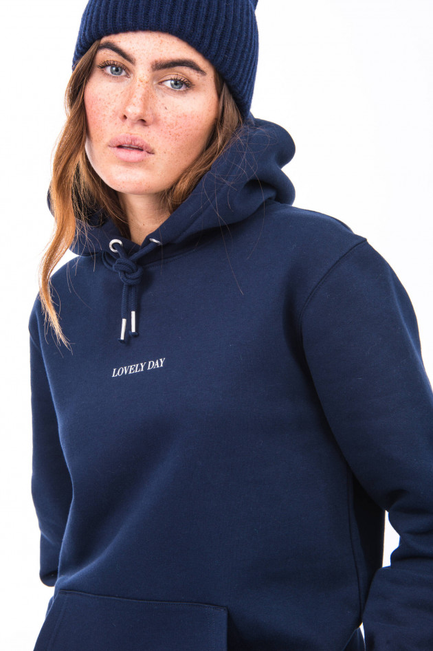 1868 Hoodie LOVELY DAY in Navy