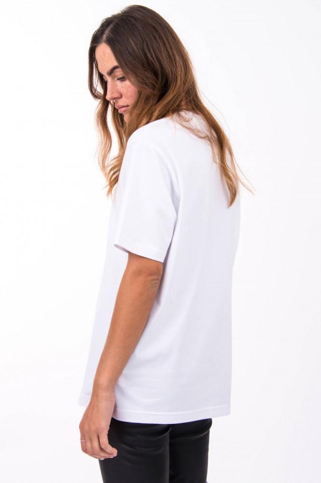 1868 T-Shirt TAKE IT EASY in Weiß