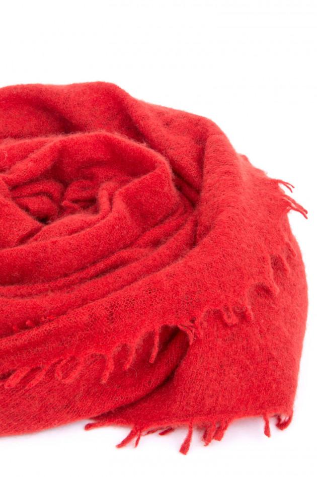 1868 Schal aus reinem Kaschmir in Cherry