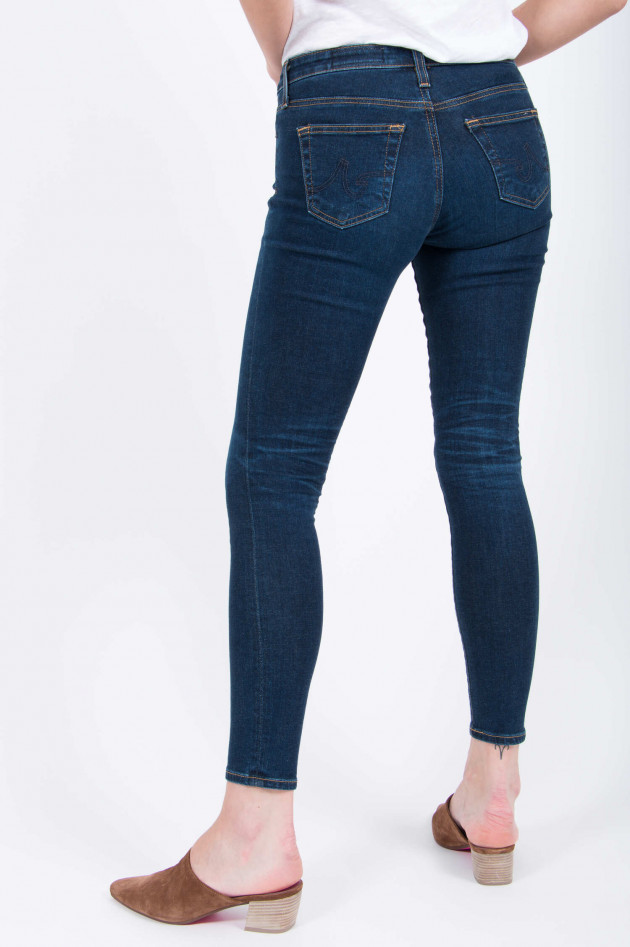 Adriano Goldschmied Jeans THE LEGGING ANKLE in Dunkelblau