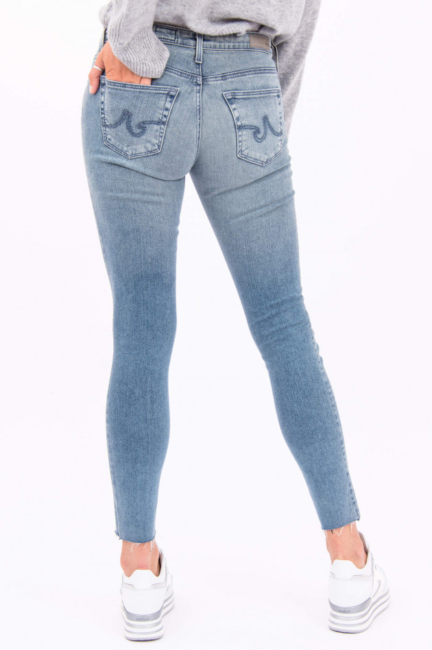 Adriano Goldschmied Jeans THE LEGGING ANKLE in Hellblau