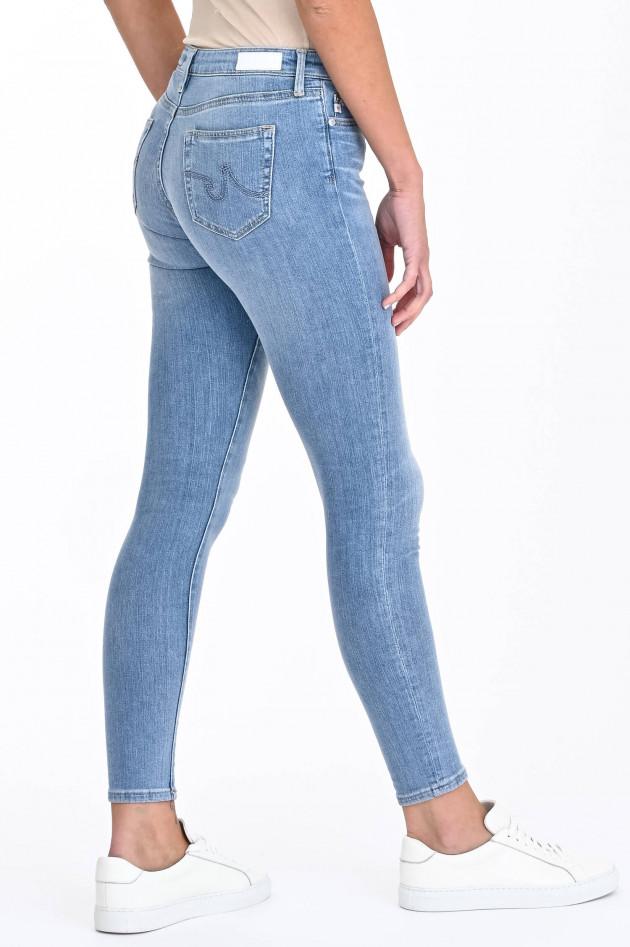 Adriano Goldschmied Jeans THE LEGGING ANKLE in Hellblau