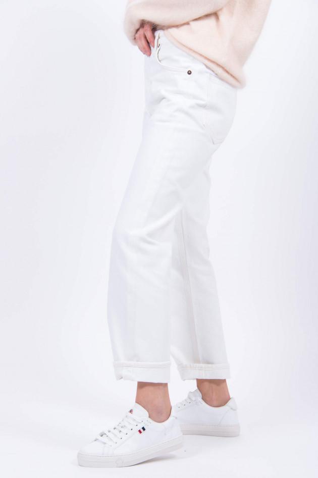 Agolde Mom-Jeans RIPLEY in Weiß
