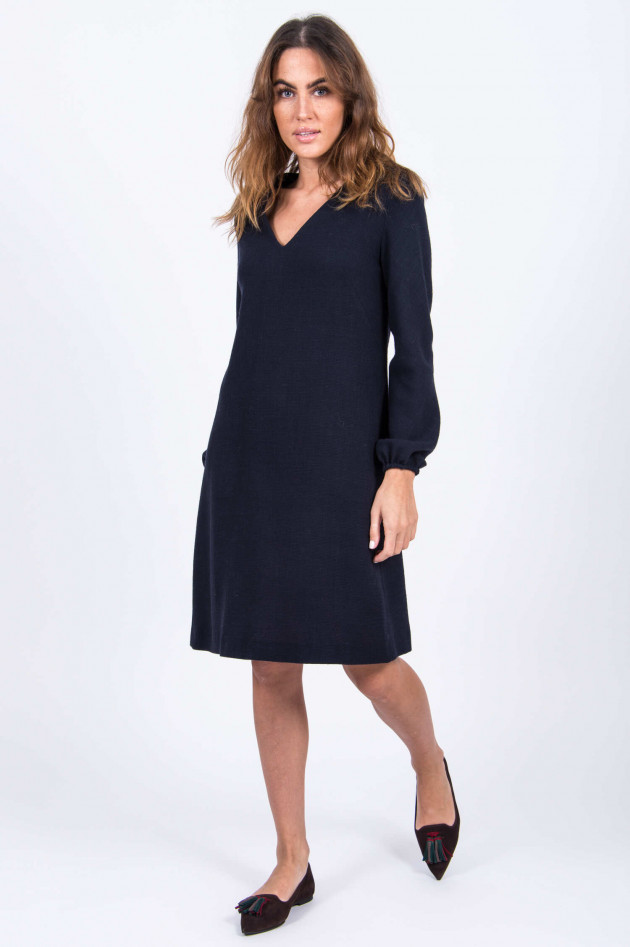 Antonelli Firenze Langarmkleid in Navy