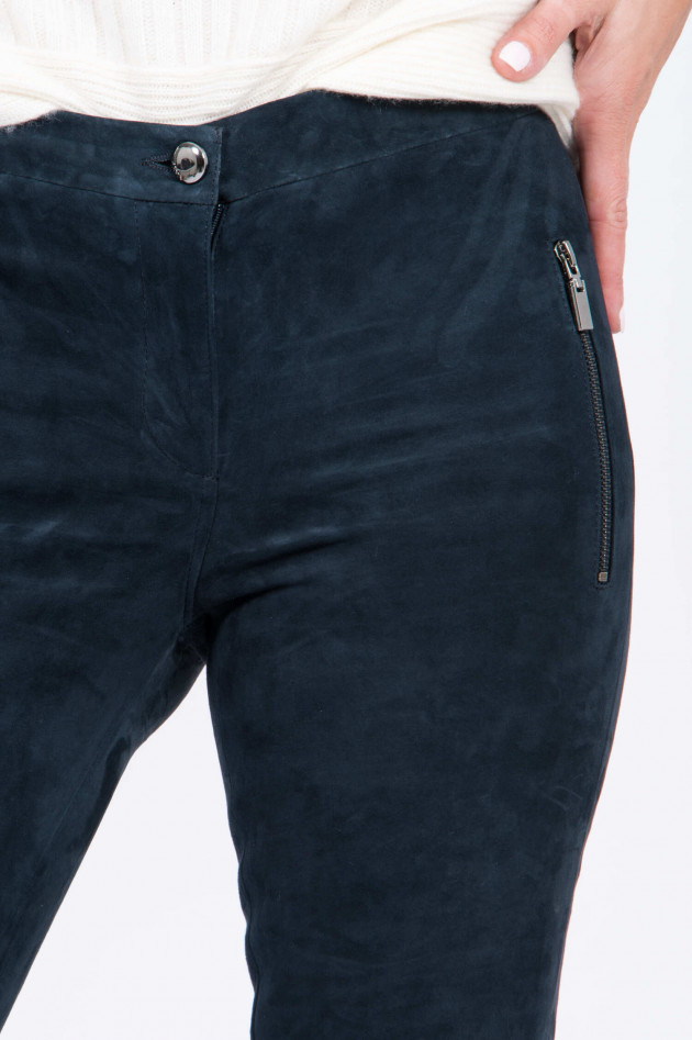 Arma  Lederhose CALIVY in Navy