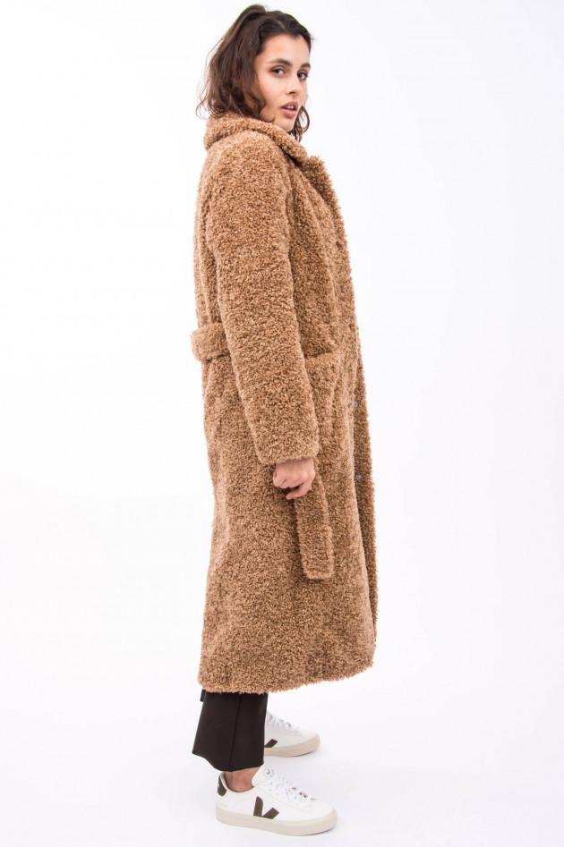 Betta Corradi Teddy-Mantel in Camel