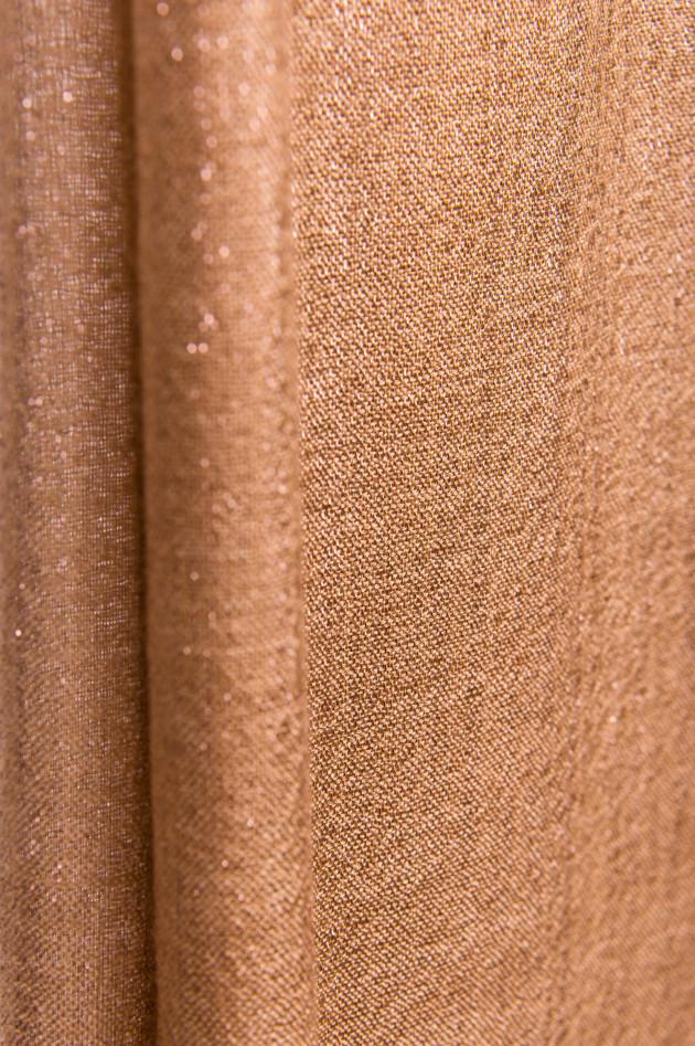 Brunello Cucinelli Kaschmir-Mix Schal in Camel/Bronze