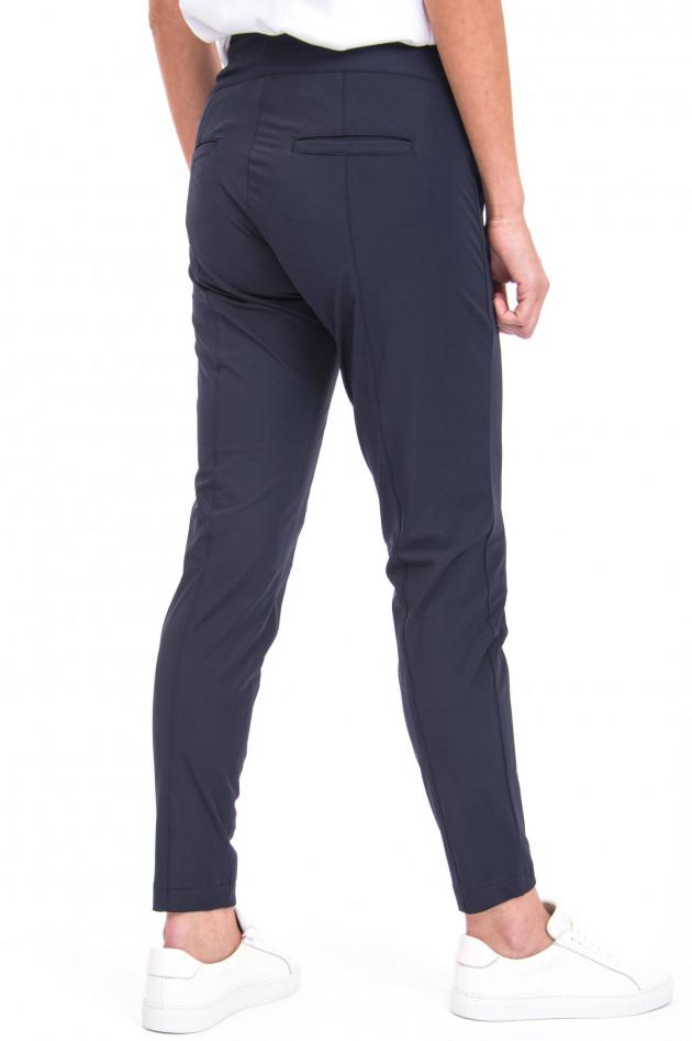 Cambio  Sportive Hose mit Ziernähten in Marine