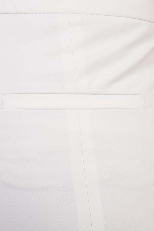 gr ner online shop cambio hose sund cropped in wei. Black Bedroom Furniture Sets. Home Design Ideas
