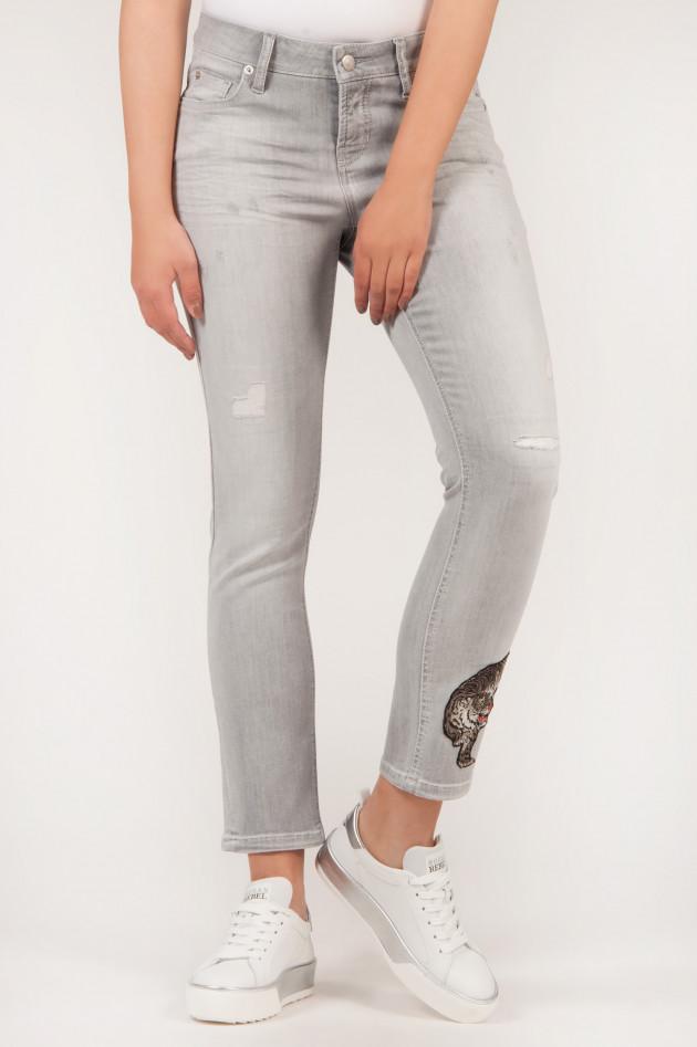 gr ner online shop cambio jeans liu in grau. Black Bedroom Furniture Sets. Home Design Ideas
