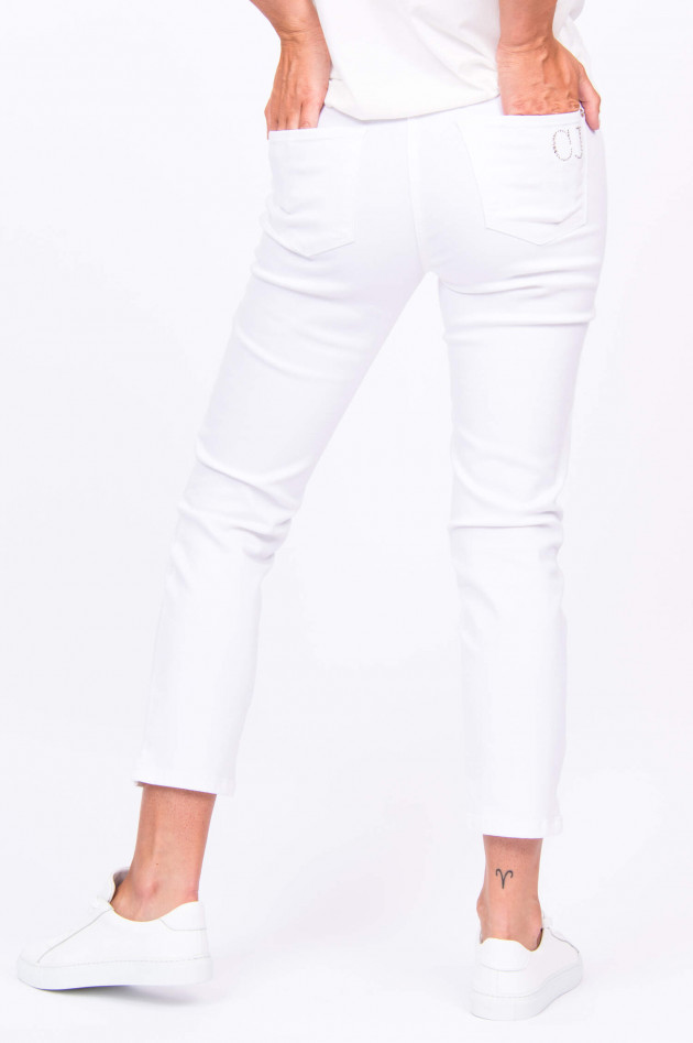 Cambio  Jeans PIPER SHORT in Weiß
