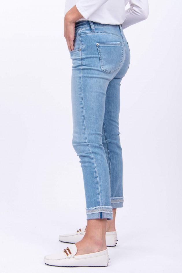 Cambio  Jeans PINA mit Details in Hellblau