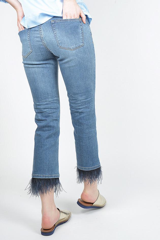 Jeans PEACHES in Blau