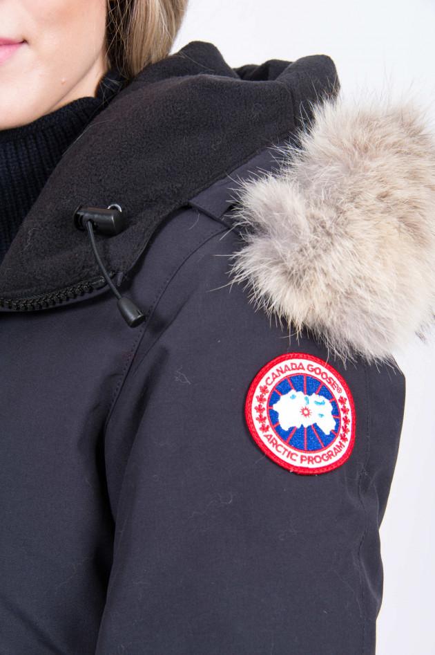 Canada Goose Winterparka VICTORIA mit Echtpelz in Navy