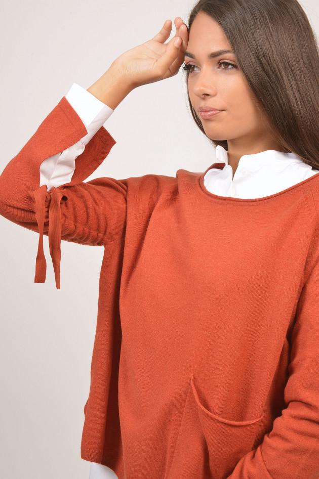Grüner Rost grüner shop charli pullover mit u bootausschnitt in rost