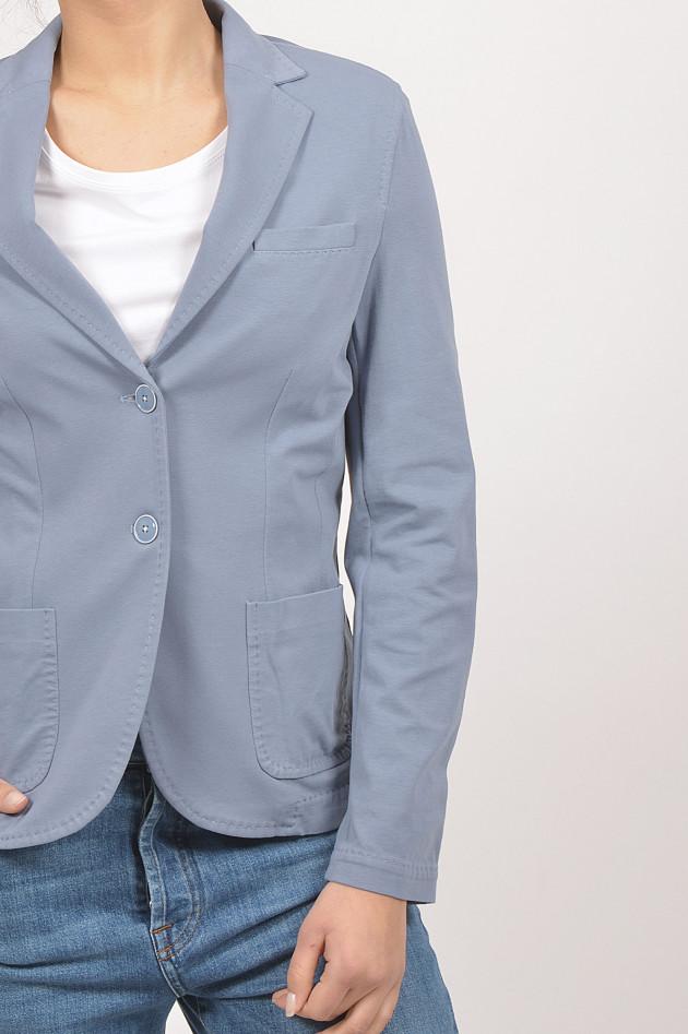gr ner online shop circolo 1901 jersey blazer in hellblau. Black Bedroom Furniture Sets. Home Design Ideas