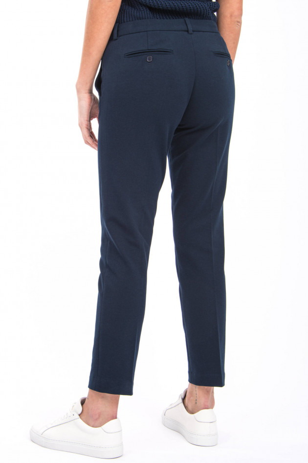 Circolo 1901 Jersey-Chino in Navy